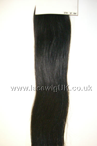 Silky Straight 18inch colour 1b Weave