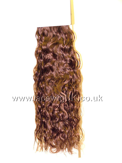 Curly 18inch colour 4 Weave